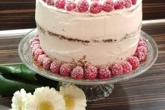 Naked Cake framboos